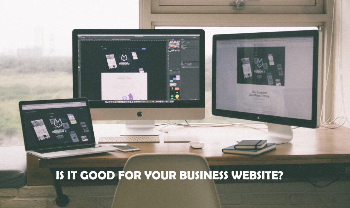 IS IT GOOD FOR YOUR BUSINESS WEBSITE?